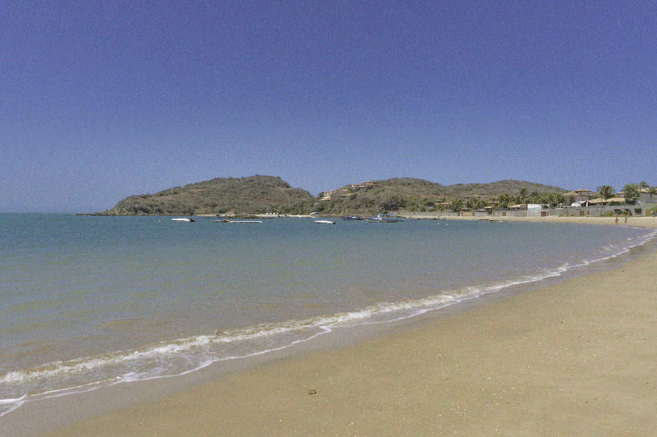 Um dia de sol na Praia da Ferradura
