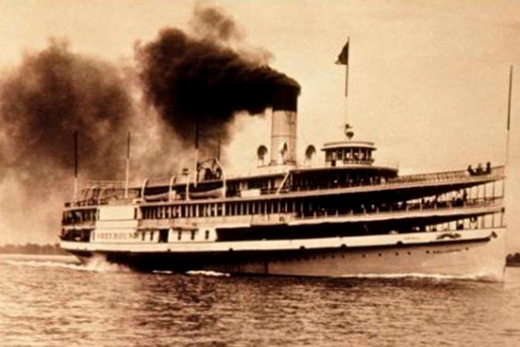 Um naufrágio em Búzios